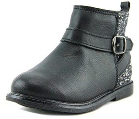 Carter's Nancy Toddler Round Toe Synthetic Black Ankle Boot.