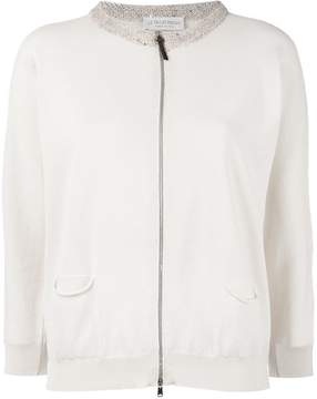 Le Tricot Perugia fitted jacket