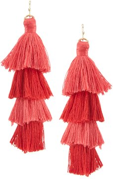 Anna & Ava Sabrina Tassel Statement Earrings