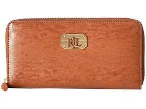 Lauren Ralph Lauren Newbury LRL Zip Wallet Wallet Handbags
