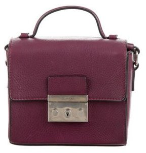 Calvin Klein Collection Donna Leather Satchel