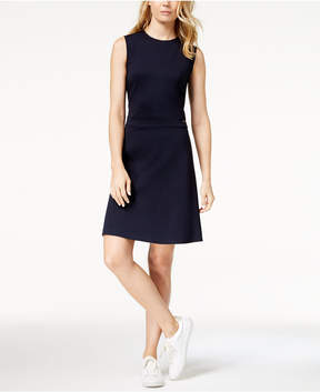 Armani Exchange Fit & Flare Dress