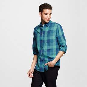 Mossimo Men's Long Sleeve Button Down Buffalo Plaid Shirt