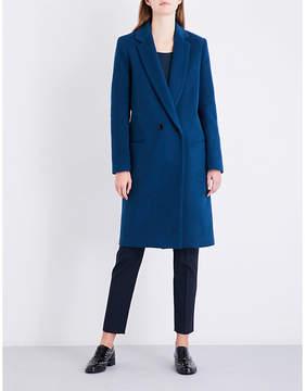Claudie Pierlot Ladies Canard Double-Breasted Wool-Blend Coat