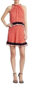 Derek Lam 10 Crosby Red Tiered Dress