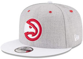 New Era Atlanta Hawks White Vize 9FIFTY Snapback Cap