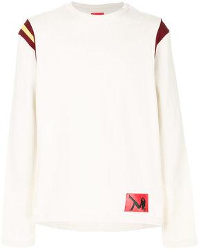 Calvin Klein stripe detail sweater