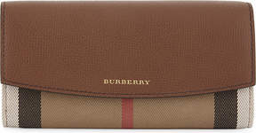 Burberry Porter house check wallet - TAN - STYLE