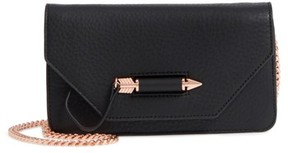 Mackage Mini Zoey Leather Crossbody Bag - Black