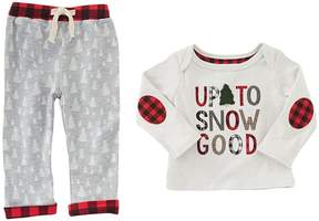 Mud Pie Up To Snow Good Pants Set Boy's Active Sets
