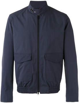 Fay roll neck bomber jacket
