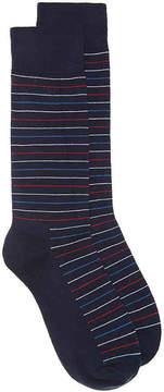 Happy Socks Men's Thin Stripe Dress Socks