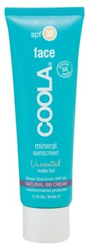 Coola Face Mineral Sunscreen Unscented Matte Tint Broad Spectrum Spf 30