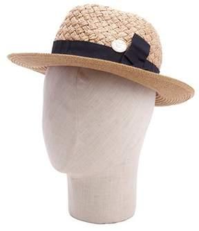 La Fiorentina Classic Bow Straw Hat.