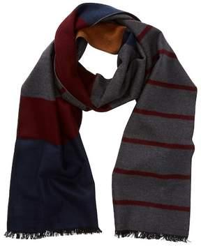 Tommy Bahama Novelty Block Stripe Silk Wrap Scarf