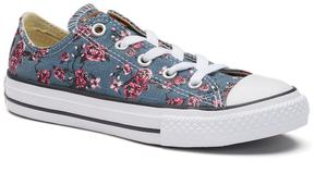 Converse Girls' Chuck Taylor All Star Roses Sneakers