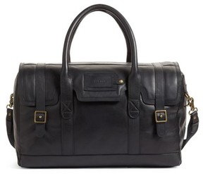 Cole Haan Leather Duffel Bag - Black
