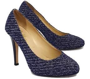 Butter Shoes Blue & Purple Tweed Pumps