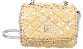 Dolce & Gabbana Quilted Brocade Crossbody w/ Tags