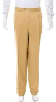 Luciano Barbera Pleated Chino Pants