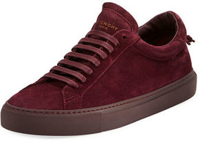 Givenchy Men's Urban Knot Suede Low-Top Sneaker
