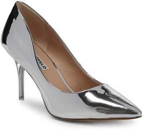 Karl Lagerfeld Paris Women's Metallic Slip-On Pumps