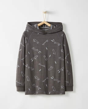 Hanna Andersson Reversible + Relaxed Hoodie