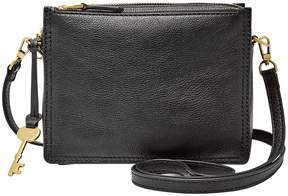 Fossil Campbell Leather Cross-Body Bag