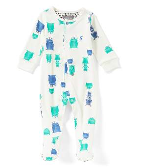 Joules Baby Boys Newborn-12 Months Frog-Prince Footed Coverall