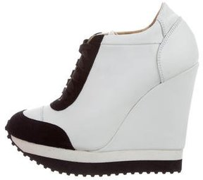 Ruthie Davis Knightly Wedge Sneakers