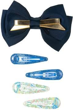 Osh Kosh Girls 4-16 5-pk. Bow Hair Clip Set