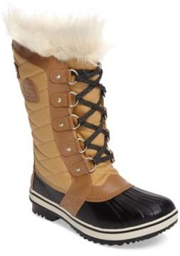 Sorel Girl's Tofino Ii Faux Fur Lined Waterproof Boot