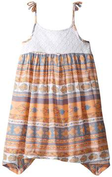 O Honey Woven Tank Dress (Toddler/Little Kids)