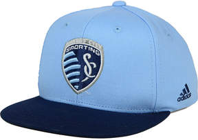 adidas Kids' Sporting Kansas City Goalie Snapback Cap