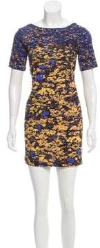 Cacharel Floral Print T-Shirt Dress