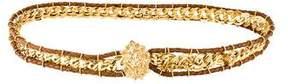 Bottega Veneta Woven Chain Belt