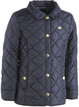 Tommy Hilfiger Quilted Barn Jacket, Big Girls (7-16)