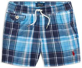 Polo Ralph Lauren Boys' Plaid Swim Trunks - Little Kid