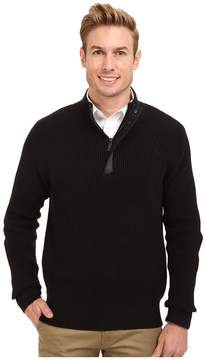 Kenneth Cole Sportswear 1/2 Zip Mock with Coating Men's Sweater