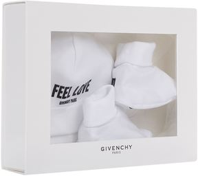 Givenchy I Feel Love Hat and Bootie Set