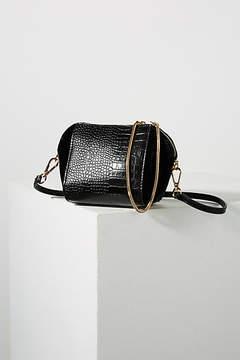 Anthropologie Double Zip Bag