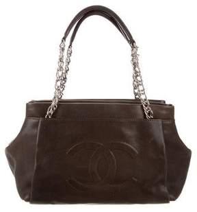 Chanel Caviar Timeless Accordion Shopper Bag