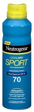 Neutrogena® CoolDry Sport Sunscreen Spray Broad Spectrum - SPF 70 - 5.5oz