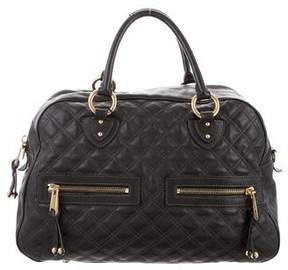 Marc Jacobs Leather Quilted Satchel