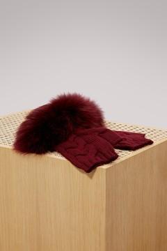 Yves Salomon Fur gloves