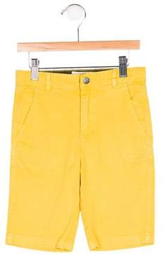 Stella McCartney Boys' Flat Front Four Pocket Shorts