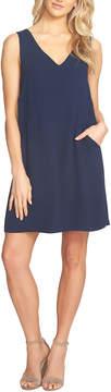 Cynthia Steffe Women's Mila V-Neck Crossback Shift Dress