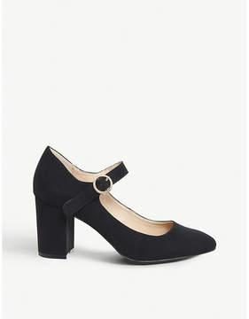 Office Monte Carlo block-heeled mary jane's