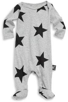 Nununu Baby's Star Cotton Footie