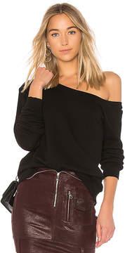 RtA Claudine One Shoulder Sweatshirt
